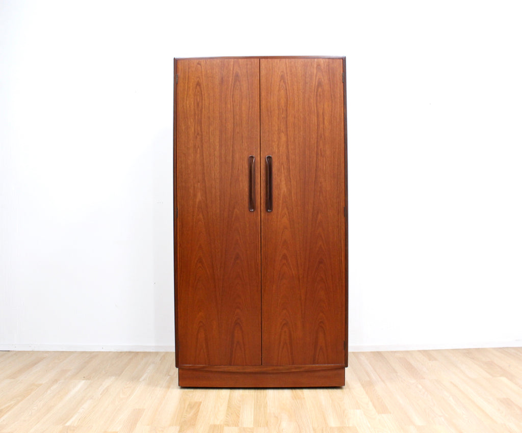 MID CENTURY ARMOIRE BY VB WILKINS FOR G PLAN