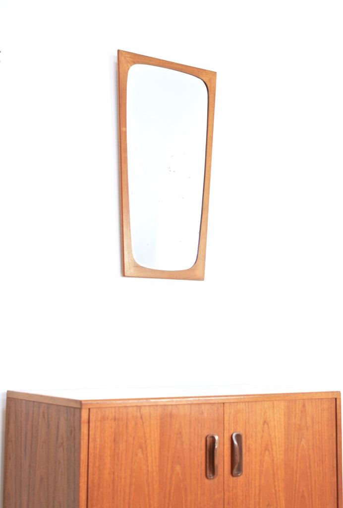 MID CENTURY MIRROR BY CLARK EATON OF DENMARK   FREE SHIPPING