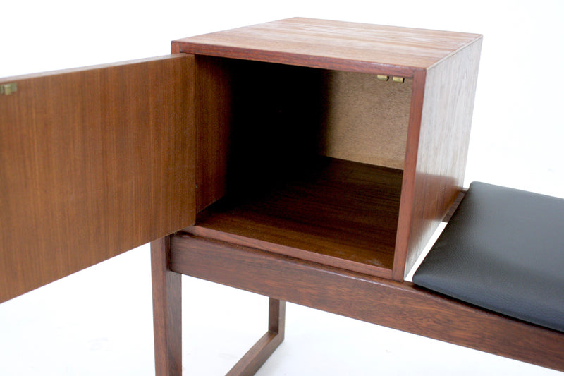 Mid Century Telephone Table...Danish