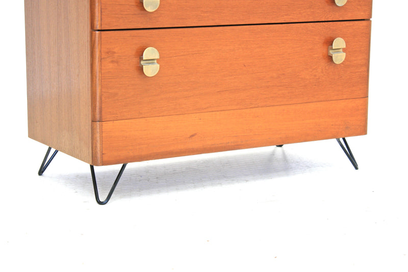 MID CENTURY LINGERIE DRAWERS BY STAG OF NOTTINGHAM