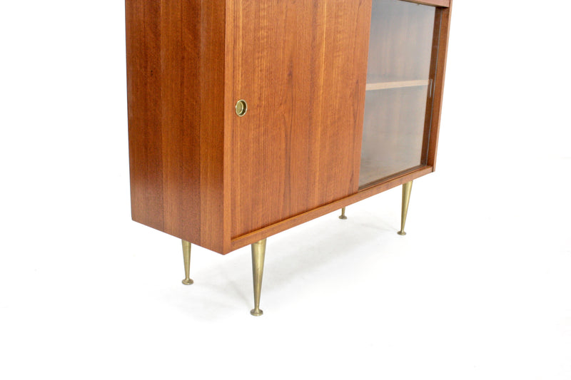 Mid Century Display Cabinets (pair) by BS Goodman Ltd of London