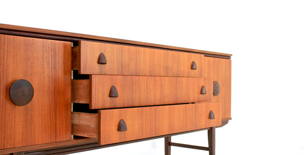 MID CENTURY CREDENZA BY AVALON OF SOMERSET, ENGLAND