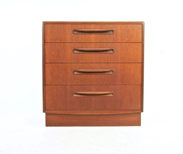 MID CENTURY LINGERIE DRESSER/DRAWER SET BY G PLAN