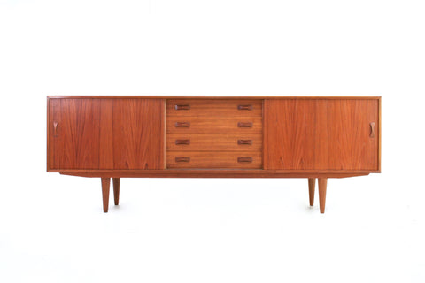 MID CENTURY CREDENZA BY CLAUSEN & SON OF DENMARK