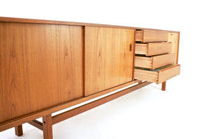 MID CENTURY CREDENZA BY TROEDS OF SWEDEN