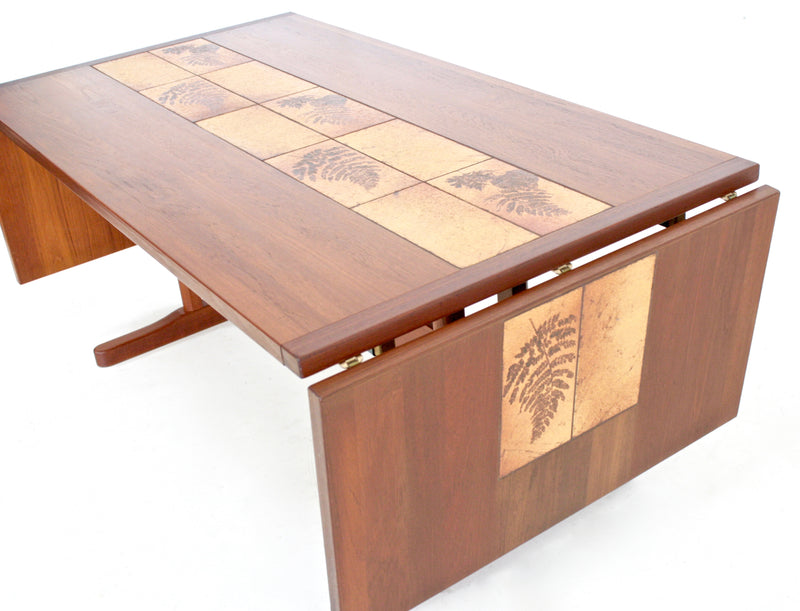 Mid Century Dining Table by Ansager Mobler of Denmark...