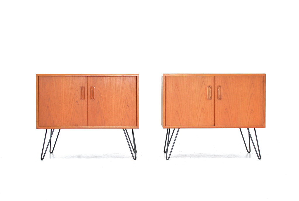 PAIR OF MID CENTURY NIGHTSTANDS BY V.B WILKINS FOR G PLAN