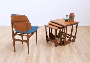 MID CENTURY ASTRO NEST OF TABLES BY G PLAN