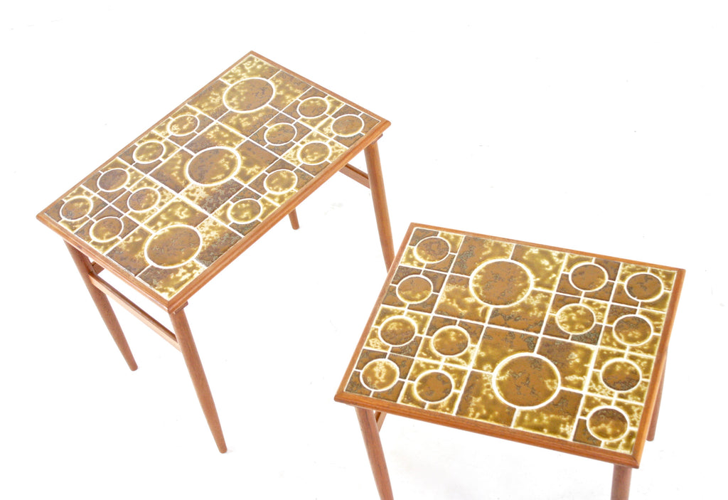 Mid Century Tables..(pair) Danish
