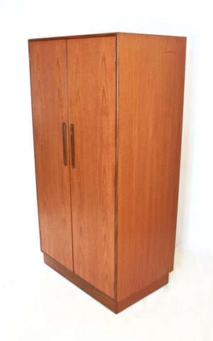 MID CENTURY ARMOIRE / WARDROBE BY V.B. WILKINS FOR G PLAN