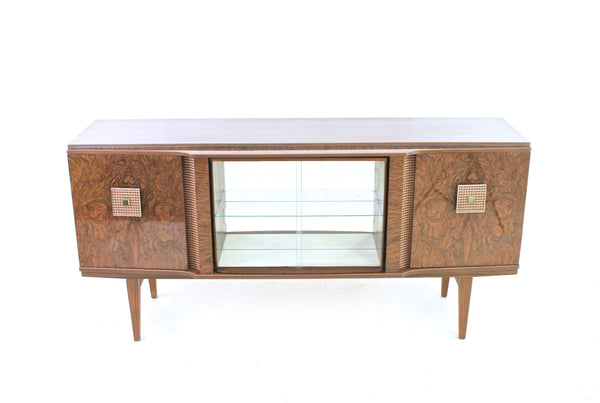 MID CENTURY FORMICA COCKTAIL BAR CREDENZA