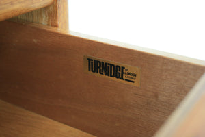 MID CENTURY BOOKCASE/ DISPLAY UNIT BY TURNIDGE