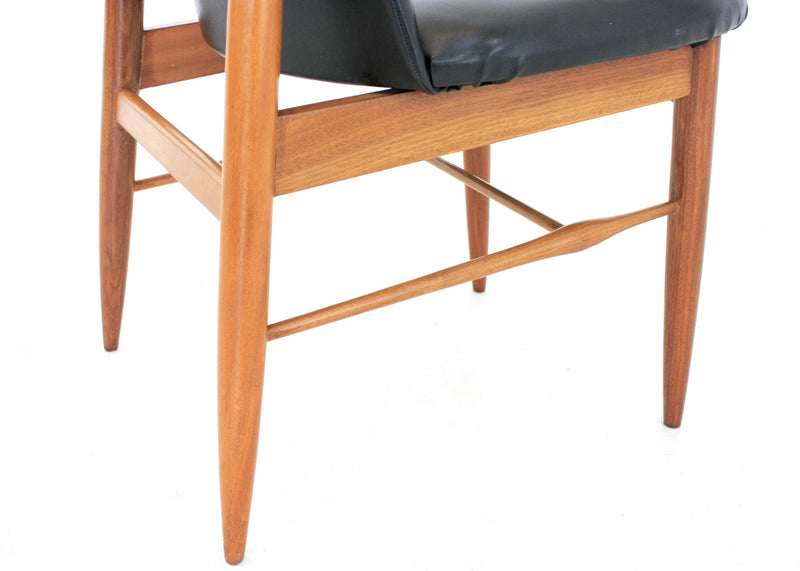 PAIR OF MID CENTURY CHAIRS BY VANSON OF ENGLAND
