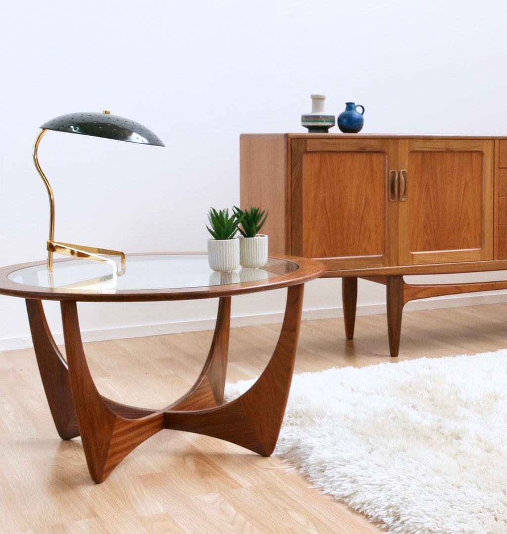 MID CENTURY COFFEE TABLE BY VB WILKINS FOR G PLAN