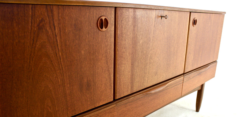 MID CENTURY TEAK CREDENZA BY PORTWOOD