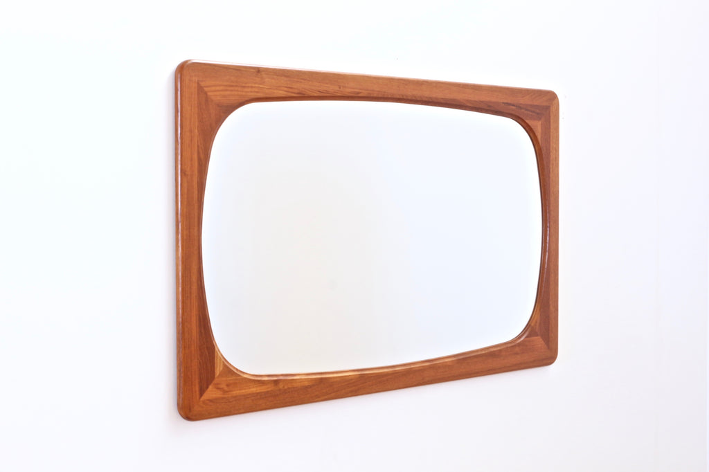 LARGE DANISH MODERN MIRROR BY FAKSE