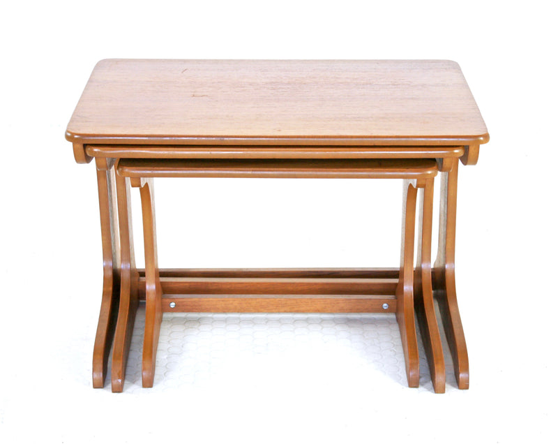 MID CENTURY NESTING TABLES - FREE SHIPPING