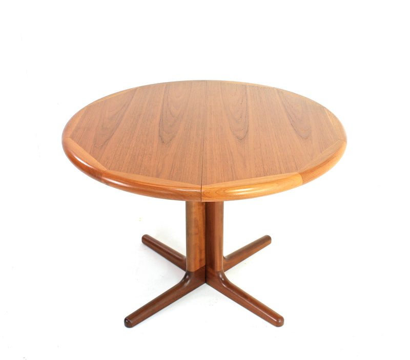 DANISH TEAK DINING TABLE BY LOURITS M LARSEN MOBELFABRIK