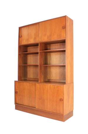 MID CENTURY  DISPLAY CABINET BY DOMINO MOBLER OF DENMARK