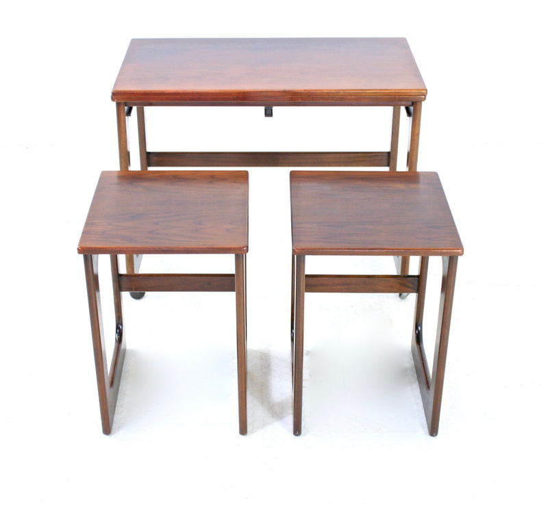 Mid Century Nesting Tables by Mcintosh