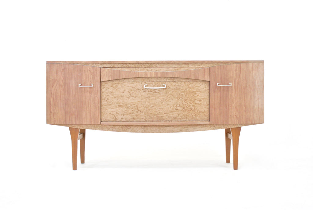 Mid Century Credenza ( light Pink Melamine) by Berry Furniture..1950s