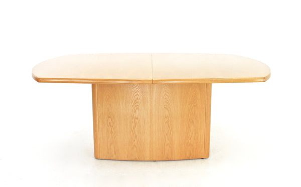 MID CENTURY EXTENDING DINING TABLE  SKOVBY OF DENMARK