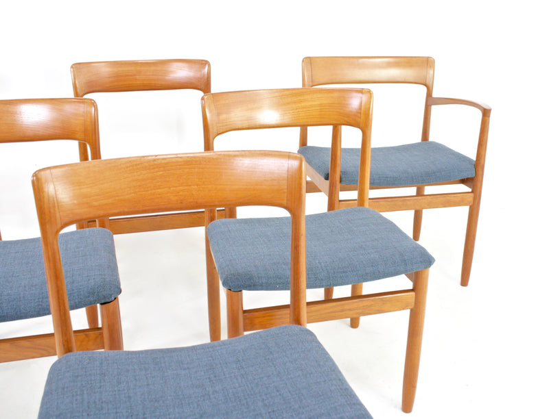 Mid Century Dining Set by JL Mollers Mobelfabrik of Denmark