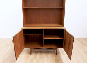 MID CENTURY BOOKCASE CABINET BY KOFOD LARSEN
