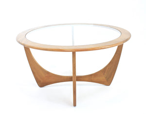 MID CENTURY ASTRO COFFEE TABLE BY VB WILKINS FOR G PLAN