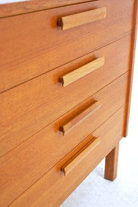 MID CENTURY DRAWER SET/CREDENZA BY NILS JONSSON FOR TROEDS