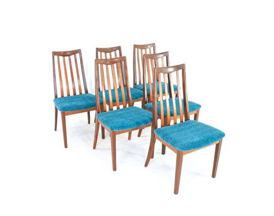 Mid Century Dining Chairs by VB Wilkins for G Plan...