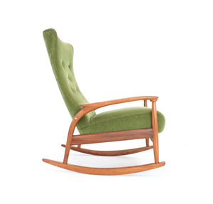 MID CENTURY ROCKING CHAIR BY GREAVES AND THOMAS OF LONDON