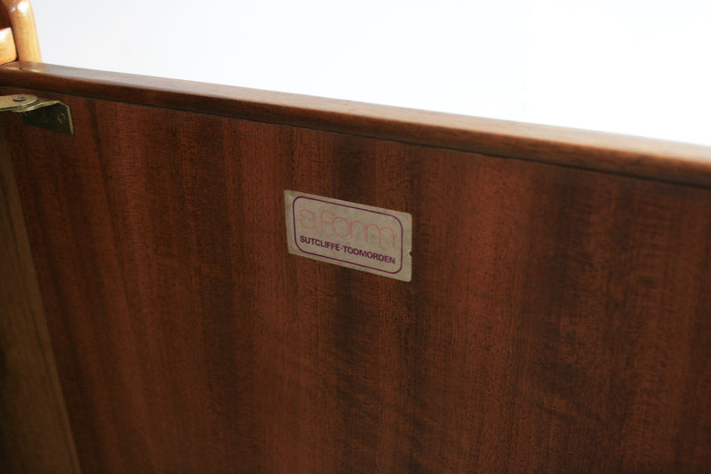 MID CENTURY TALL CREDENZA BY SUTCLIFFE OF TODMORDEN