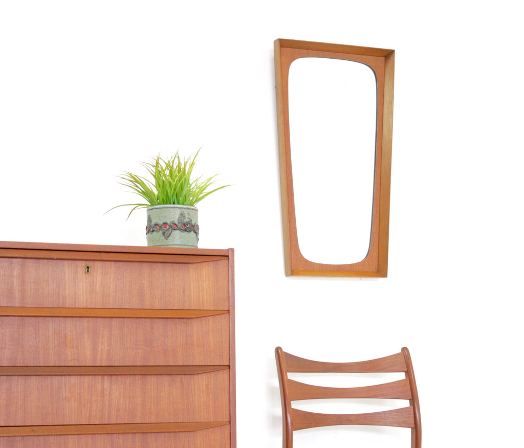 Mid Century Mirror..Danish