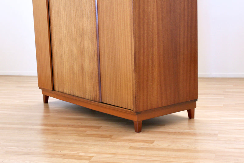 RESERVED FOR RAY - MID CENTURY ARMOIRE TRIPLE BY AUSTINSUITE