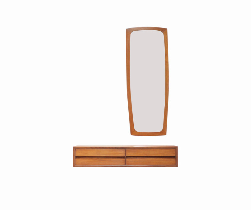 Mid Century Mirror Entryway/Bedroom set