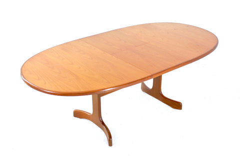MID CENTURY TEAK DINING TABLE BY G PLAN