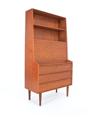 MID CENTURY DANISH WALL UNIT/BUREAU