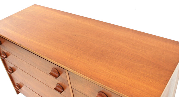 MID CENTURY TEAK DRESSER / DRAWER BY STAG OF NOTTINGHAM