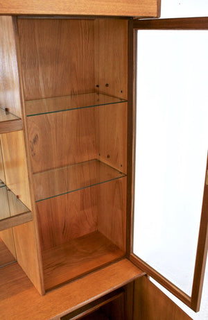 MID CENTURY DISPLAY CABINET BY TURNIDGE