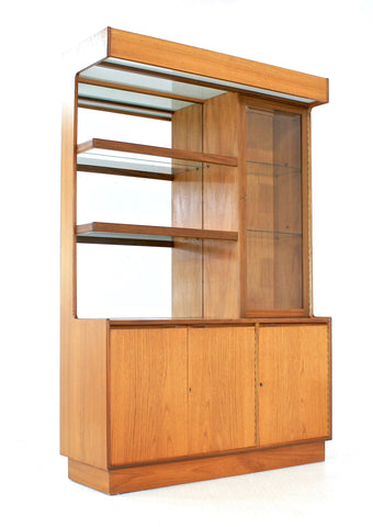 MID CENTURY  Display Cabinet.. Teak..English