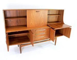 MID CENTURY TALL CREDENZA BY G PLAN