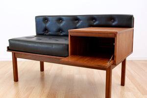 MID CENTURY TELEPHONE BENCH BY CHIPPY HEATH