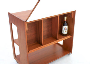 MID CENTURY BAR CART BY MCINTOSH OF SCOTLAND