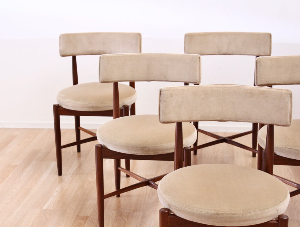 Set of Six Dining Chairs by VB Wilkins for G Plan