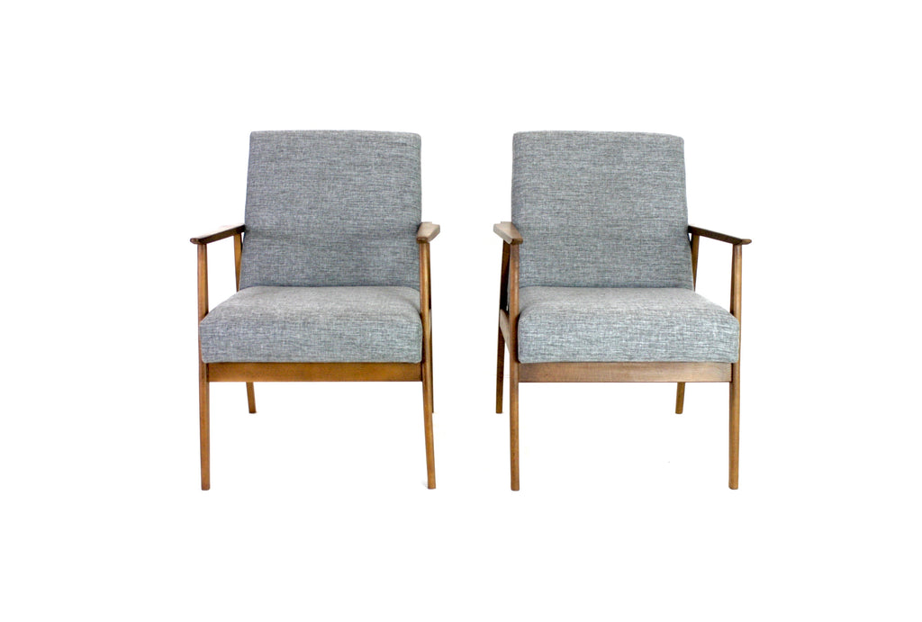 MID CENTURY LOUNGE CHAIRS BY DUX MOBLER OF DENMARK
