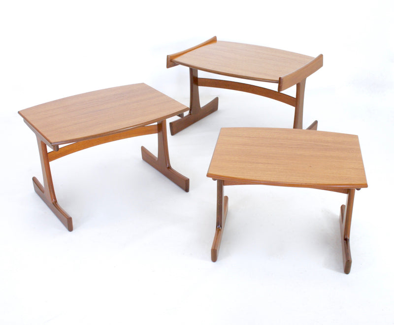 MID CENTURY NESTING TABLES BY G PLAN