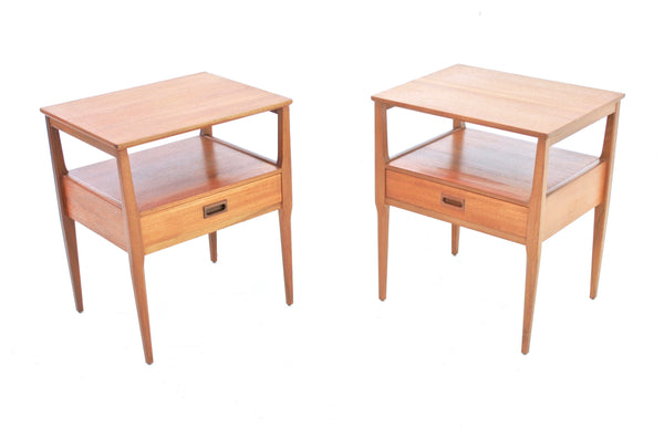 MID CENTURY NIGHT STANDS BY NATHAN - FREE SHIPPING