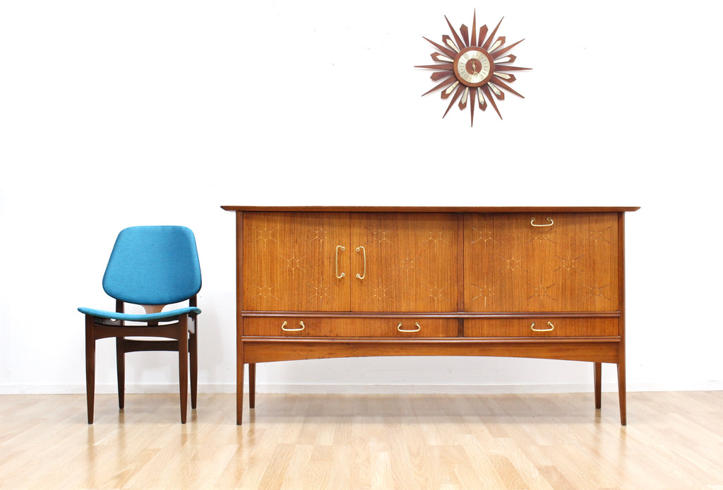 MID CENTURY CREDENZA BY PETER HAYWARD FOR VANSON