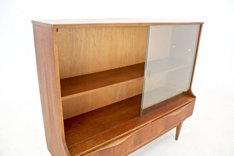 Mid Century Danish Bookcase Display Cabinet